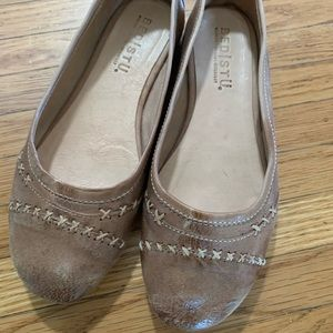 Bed Stu Brown Leather Ballet Flats 6